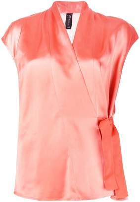 Zero Maria Cornejo side buckle blouse