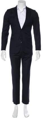 Hermes Striped Suit