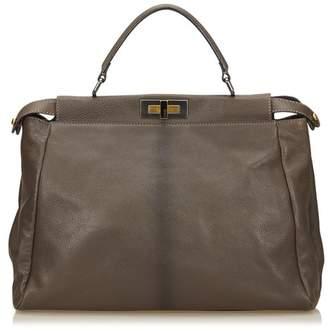 Fendi Vintage Leather Peekaboo