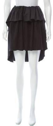 Alexis Mabille Knee-Length High-Low Skirt w/ Tags