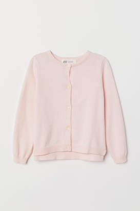 H&M Knitted cotton cardigan