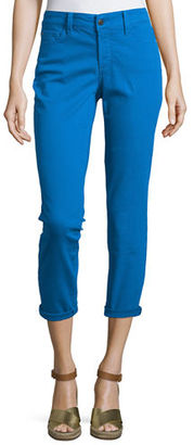 NYDJ Clarissa Cropped Skinny Twill Jeans $90 thestylecure.com