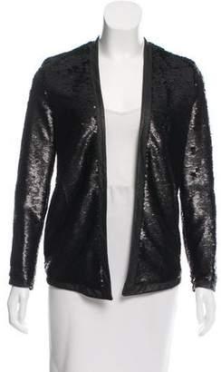 Wayne Embellished Open-Front Jacket