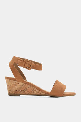 Ardene Faux Suede Wedge Sandals