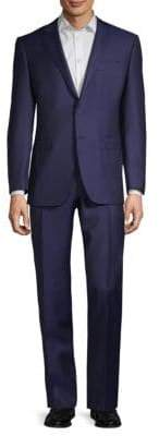 Canali Two-Piece Pinstripe Wool Suit