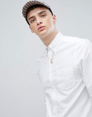 Aquascutum London Bevin Classic Oxford Shirt In White