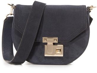 Rebecca Minkoff Paris Saddle Bag $325 thestylecure.com
