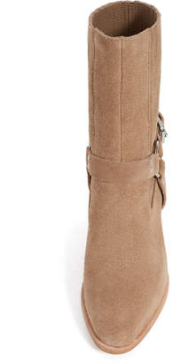 Opening Ceremony Shayenne Suede Harness Ankle Boots