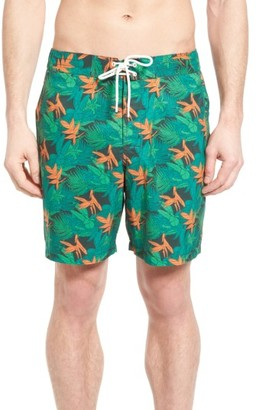 Men's Rodd & Gunn Snells Beach Print Swim Trunks $98 thestylecure.com