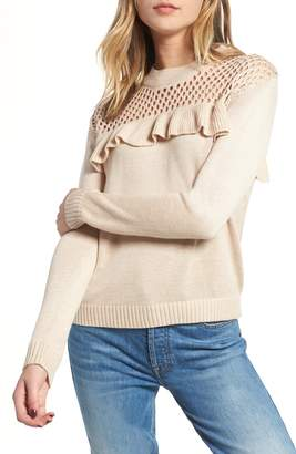Heartloom Mae Ruffle Sweater