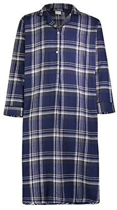 cd5c325d37 Bill Baileys Sleepwear Men s 100% Cotton Flannel Nightshirt Sleep Shirt  (2X-Large