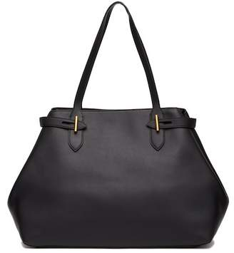 Anne Klein Belted Leather Tote Bag