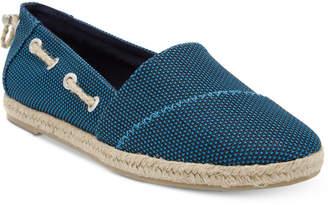 Nautica Rudder Espadrille Flats Women's Shoes $40 thestylecure.com