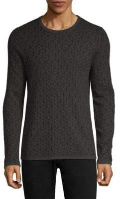 HUGO Scuber Geo Print Sweater
