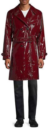 Valentino Leather Trench Coat