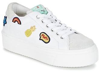 Ippon Vintage TOKYO PATCH women's Shoes (Trainers) in White