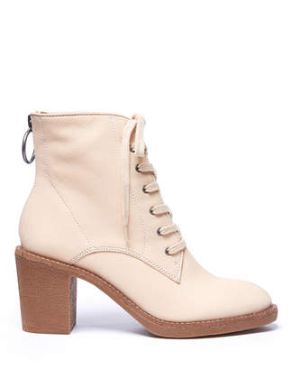 Lucky Brand Borelis Lace Up Zip Back Bootie