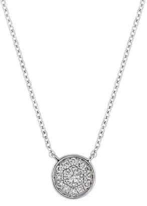 Carriere JEWELRY Diamond Pave Disc Pendant