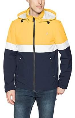 Nautica Men's Hooded Colorblock Jacket