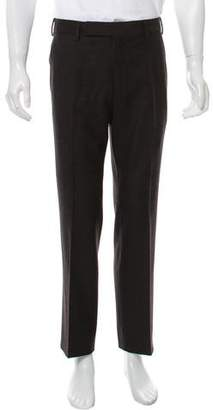 Tom Ford Wool Cashmere-Blend Flat Font Pants