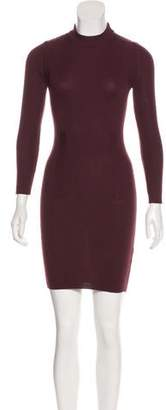 Maison Margiela Wool Bodycon Mini Dress