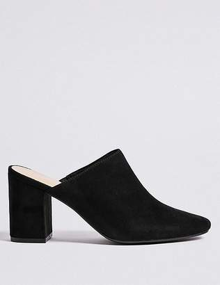 Marks and Spencer Block Heel Mule Shoes