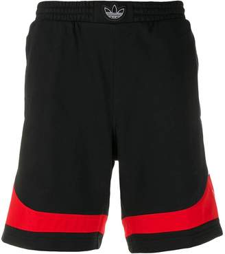 adidas stripe bermuda shorts