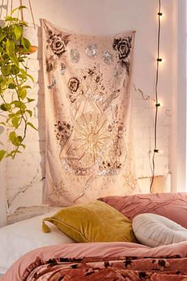 Celestial Embellished Velvet Tapestry
