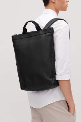 Cos LEATHER TOTE BACKPACK