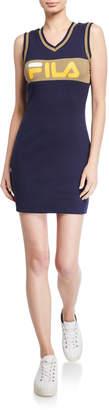 Fila Leigh Rib Logo Dress