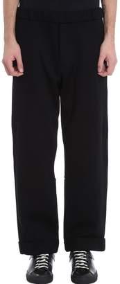 Oamc Black Wool Pants