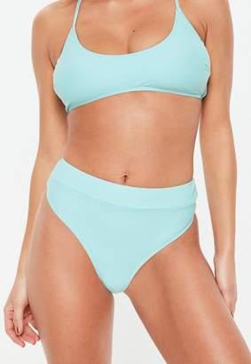 Missguided High Waisted Thong Bikini Bottoms- Mix & Match
