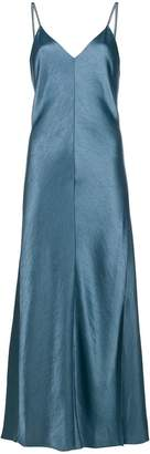 Theory side-slit midi dress