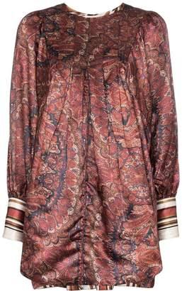 By Ti Mo byTiMo Vintage paisley print satin mini dress
