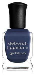 Deborah Lippmann Gel Lab Pro - Smoke Gets In Your Eyes - smokey blue creme