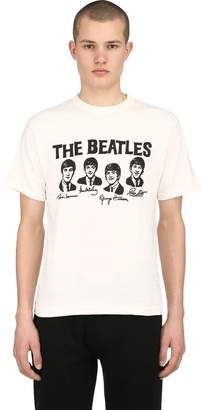 The Beatles Print Cotton Jersey T-Shirt