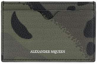 Alexander McQueen dancing skeleton cardholder