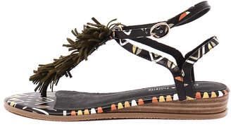 Django & Juliette New Hayer Black Tribal Khaki Womens Shoes Casual