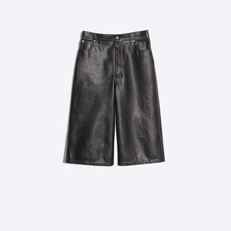 Balenciaga Bull leather Capri pants