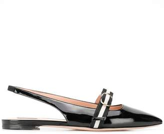 Bally Ali slingback ballerina shoes