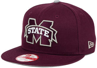 New Era Mississippi State Bulldogs Core 9FIFTY Snapback Cap