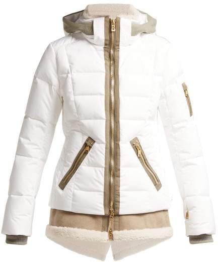 Eyla Down Filled Quilted Jacket - Womens - White
