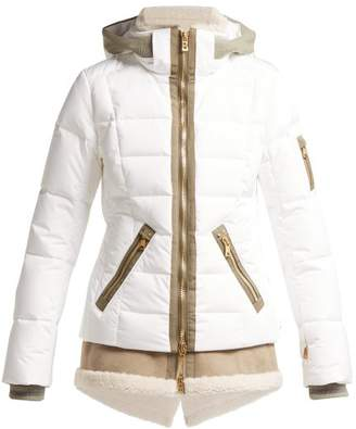 Bogner Eyla Down Filled Quilted Jacket - Womens - White