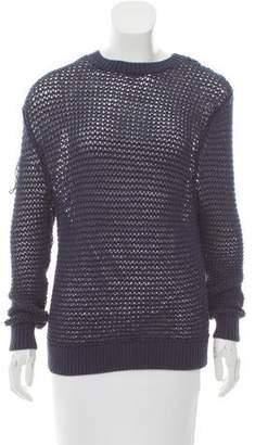 Steven Alan Open Knit Long Sleeve Sweater
