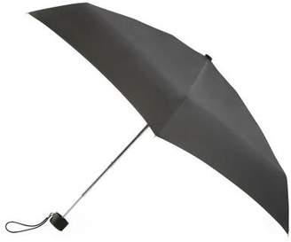 totes Thin Black Mini Umbrella (5 Section)