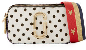 Marc Jacobs Marc Jacobs Snapshot Polka-Dot Camera Bag, White Multipattern