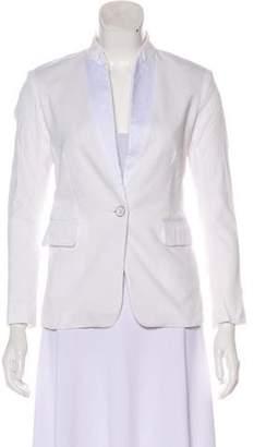 Rag & Bone Woven Button-Up Blazer