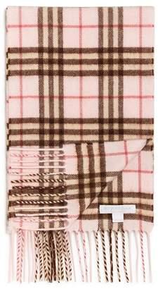 Burberry Girls' Mini Classic Vintage Check Cashmere Scarf