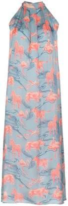 Ebel Chufy silk maxi dress