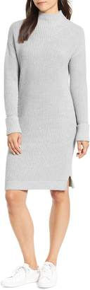 Caslon Ribbed Sweater Dress